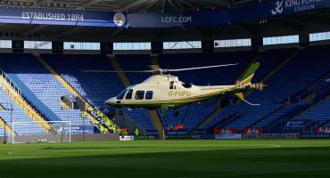 Helicóptero del presidente del Leicester hizo tres viajes el mismo día de su desplome