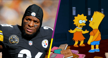 Jugadores de los Steelers saquean el casillero de Le'Veon Bell
