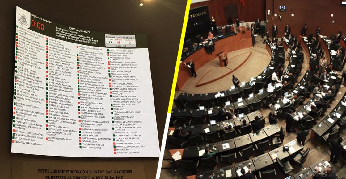 Con reservas, Senado aprueba la Ley Orgánica de la Administración Pública Federal