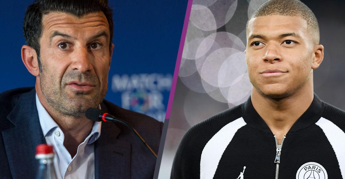 ¡Qué honor! Figo comparó el talento de Mbappé con el de Ronaldo el 'Fenómeno'