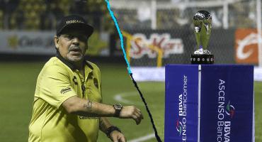 ¡No es un sueño! Maradona está a 90 minutos del título del Ascenso MX