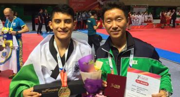 William Arroyo, el mexicano que a los 15 años es Bicampeón del Mundo en Taekwondo