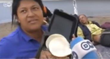 Reportan como desaparecida a la migrante hondureña que rechazó frijoles