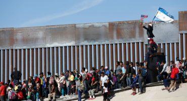 Fotos: Así fue el intento de la caravana migrante para entrar a Estados Unidos
