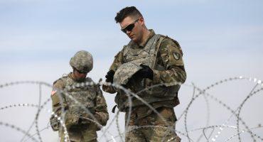 Ya son casi 6 mil soldados desplegados en la frontera con EEUU