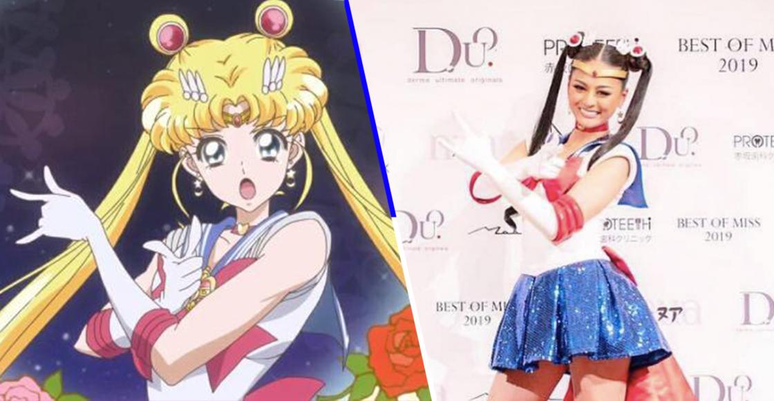 ¡Kawaii! ¡Representante de Japón podría ir a Miss Universo usando un traje de Sailor Moon!