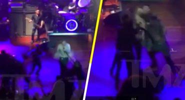Golpean en la cara a Morrissey durante un concierto en San Diego