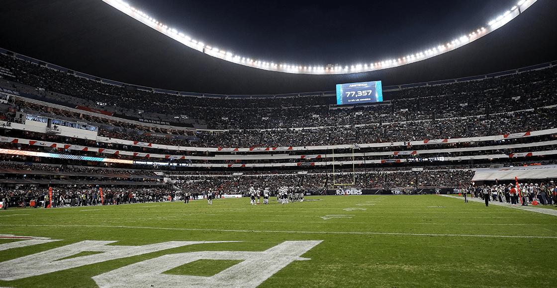 Oficial: Sí habrá juego de NFL en México en 2019