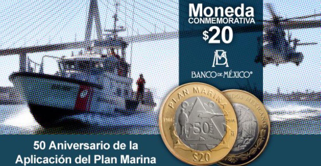 ¿Qué? ¡Habrá una nueva moneda conmemorativa de 20 pesos!