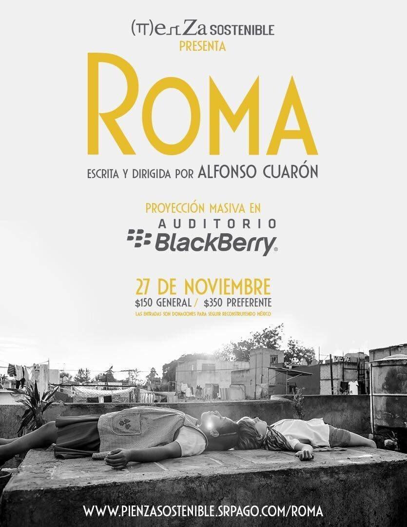 ROMA llega a la Cineteca y todo lo que debes saber para verla antes que en Netflix
