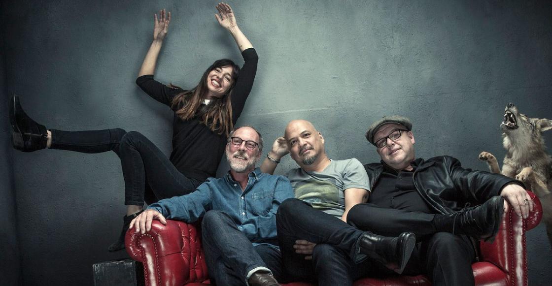 La reconocida banda Pixies, lista para presentación hoy en el Zócalo