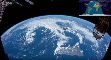 ¡Wow! Checa el timelapse más largo de nuestro planeta visto desde el espacio