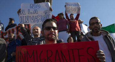 Mientras Trump copia discurso de su edil, tijuanenses protestan contra migrantes