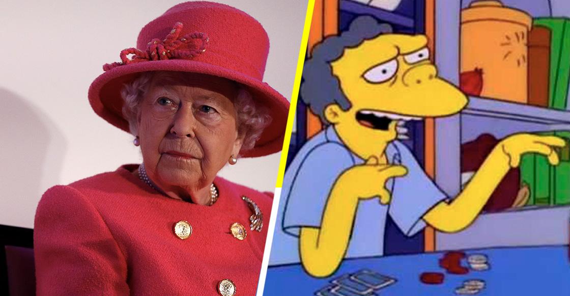 La reina Isabel II come plátanos con tenedor y cuchillo por esta razón