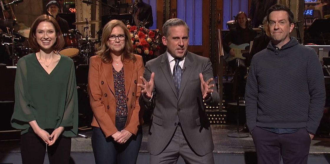 Reunión del elenco de The Office en SNL
