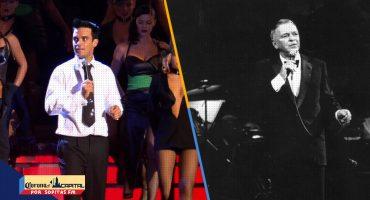 Recordemos cuando Robbie Williams fue considerado como el nuevo Frank Sinatra
