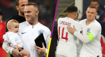 El último partido de Wayne Rooney con Inglaterra en imágenes