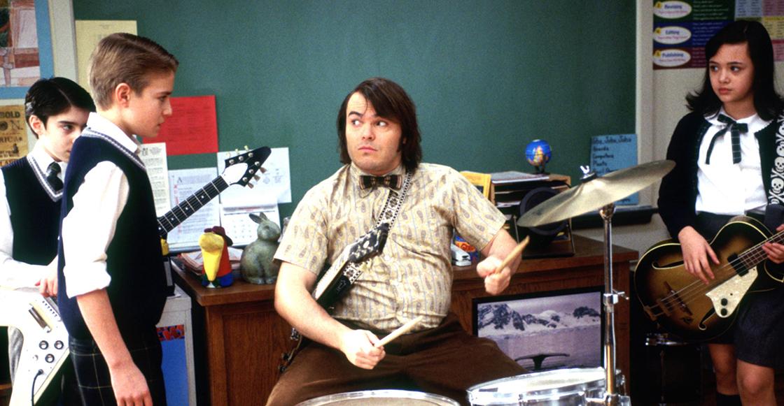 ¿Pozole andabas? Jack Black se reunió con baterista de 'School of Rock' 15 años después