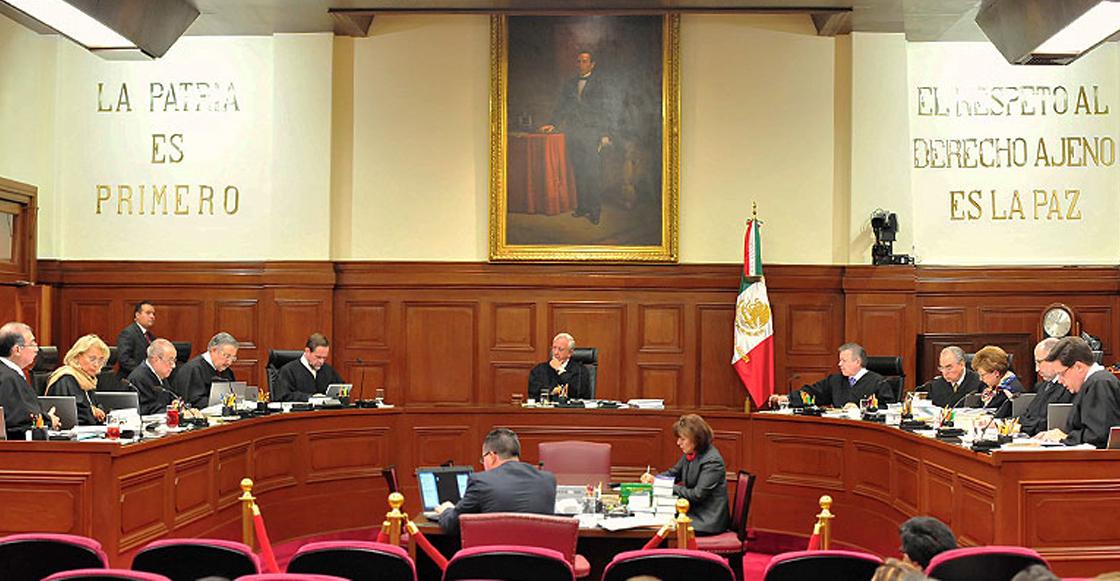 6 ministros de la SCJN votan en contra de la Ley de Seguridad Interior; faltan dos