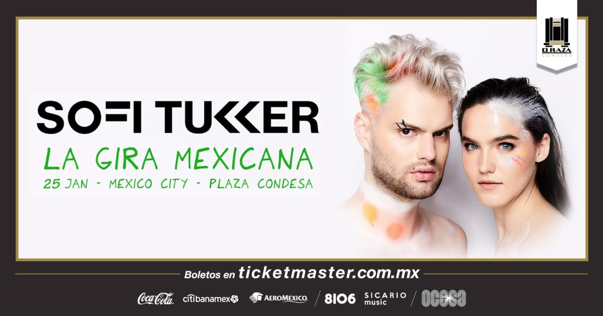 ¡Com Deus me levanto! Sofi Tukker regresará a la Ciudad de México en 2019