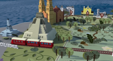 ¡Ámonos! Ya hasta presentaron comercial animado para el Tren Maya