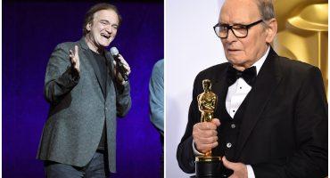 """Él es un cretino"": Ennio Morricone critica fuertemente a Quentin Tarantino"