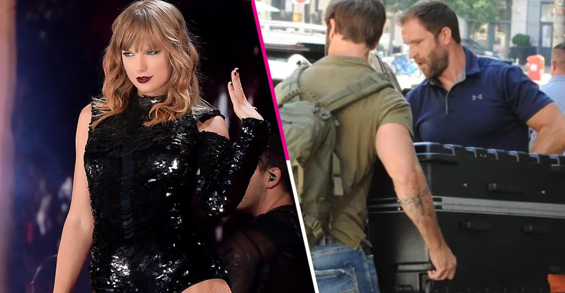 Ridícula nivel: Taylor Swift viaja en una maleta para evitar a los paparazzi