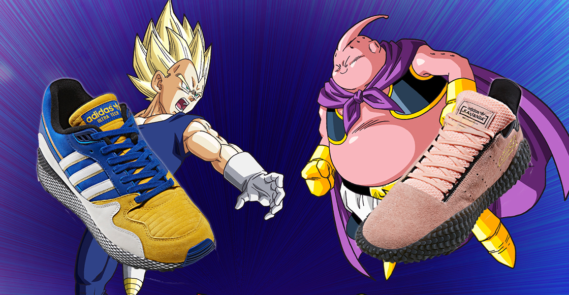Dragon Ball Z: ¡Finalmente llegaron a México los Adidas de Vegeta y Majin Boo!
