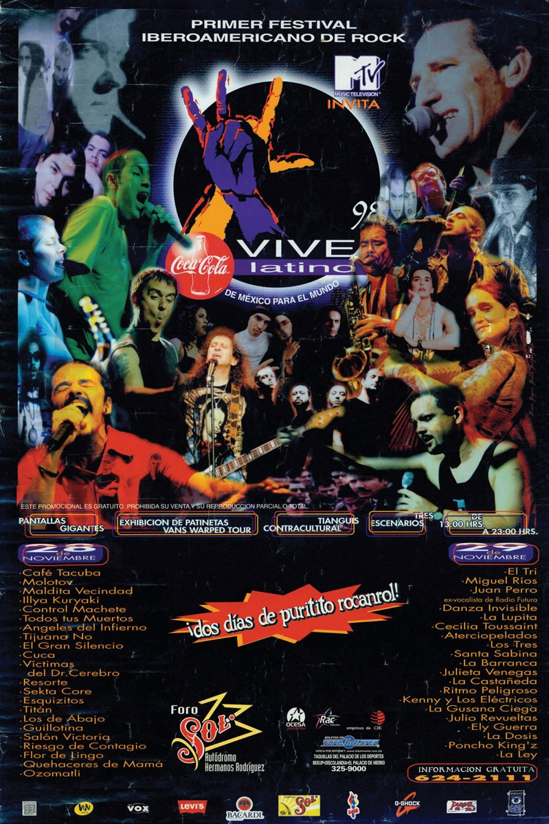 ¿Por qué el cartel del 20° aniversario del Vive Latino está dividiendo opiniones?