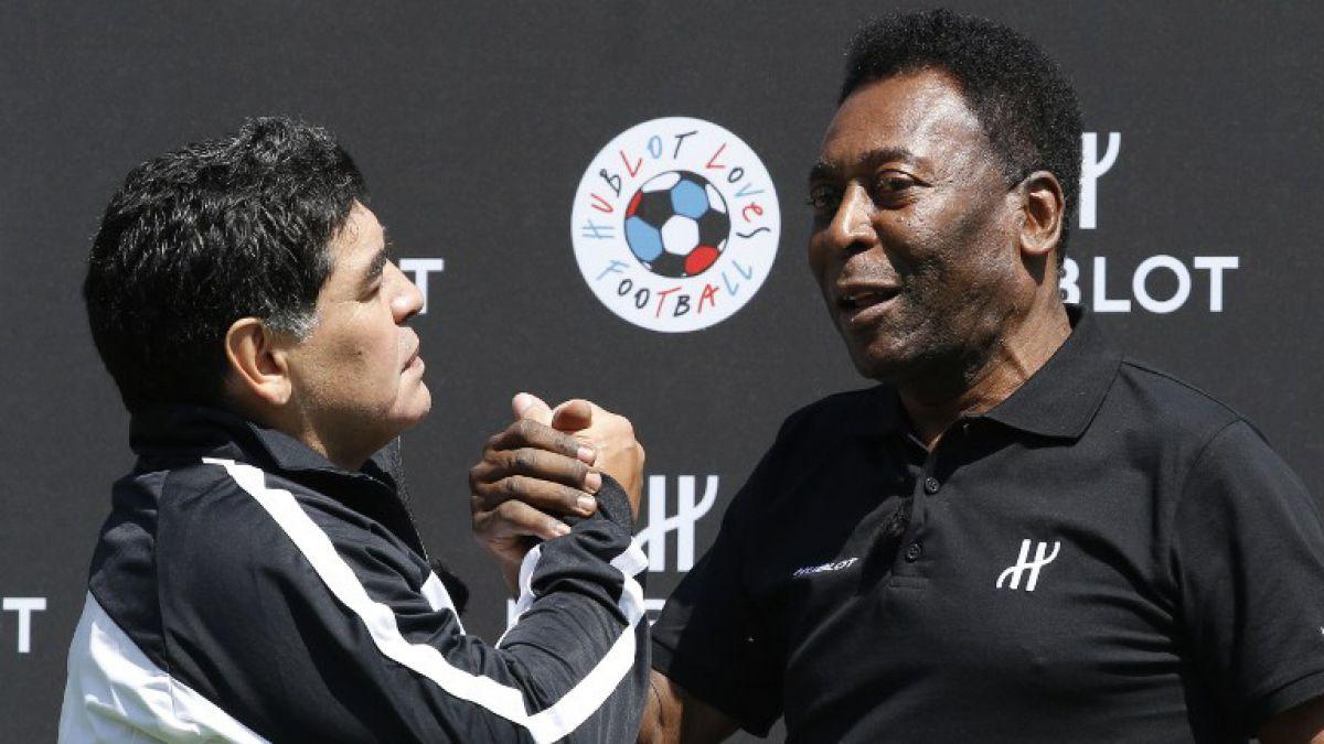"""Pelé lanza un dardo directo: """"Messi no puede ser comparado conmigo"""""""