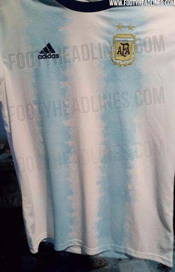 ¡Hermoso! Se filtró el uniforme que Argentina usaría en la Copa América 2019