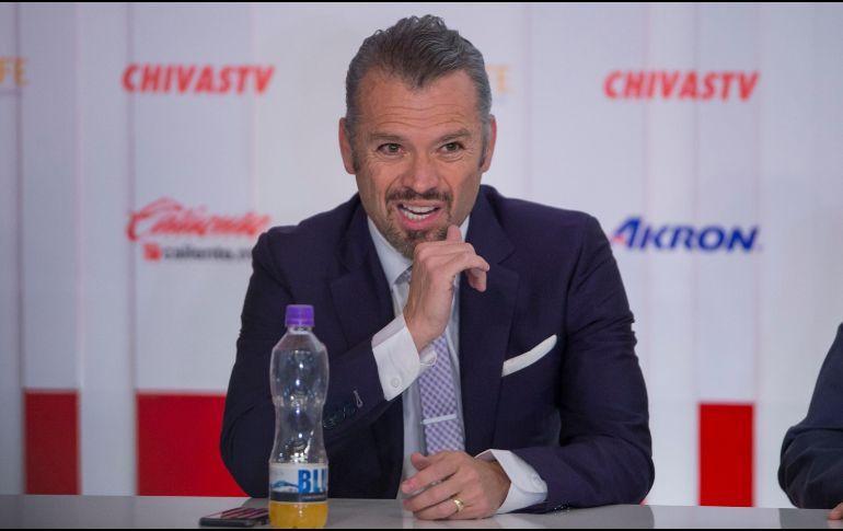 """José Luis Higuera: """"Yo no vive a hacer Campeón a Chivas, no me corresponde"""""""