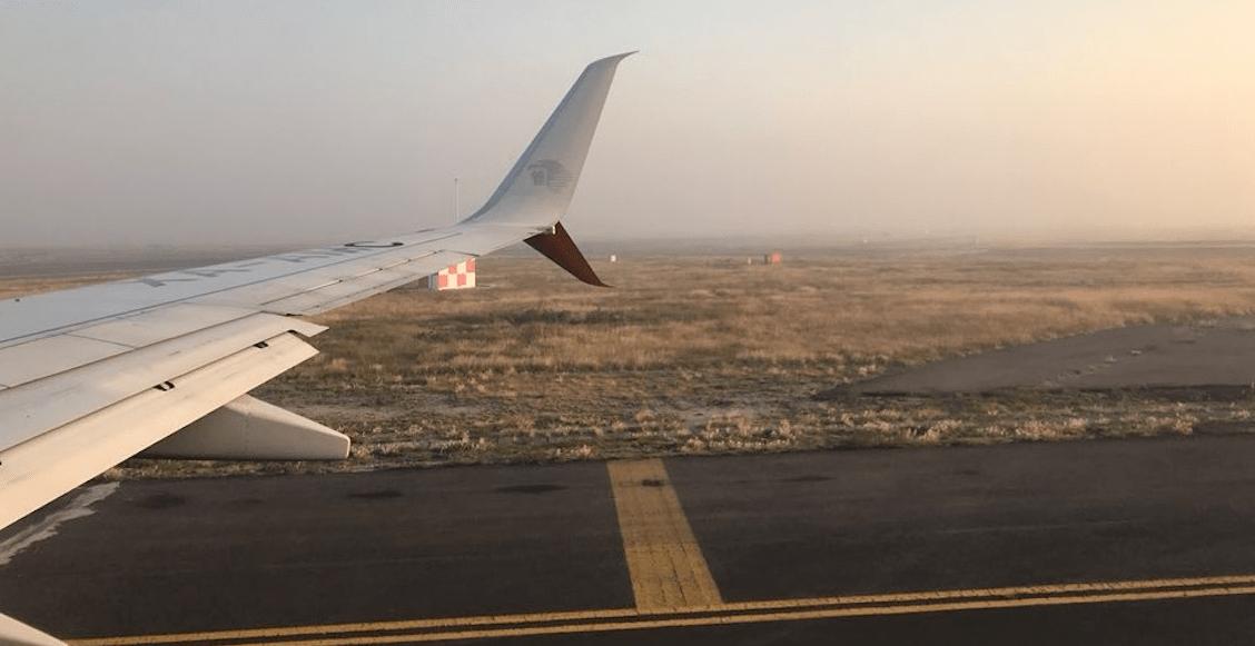 Por banco de niebla, el AICM Benito Juárez suspende aterrizajes y despegues