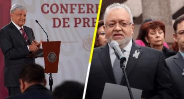 En la pelea Poder Judicial vs Ejecutivo: AMLO impugna suspensión de ley de salarios