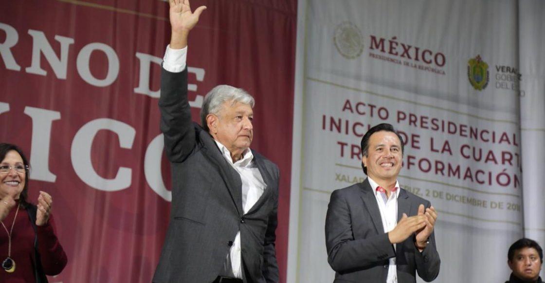 AMLO y Cuitláhuac García