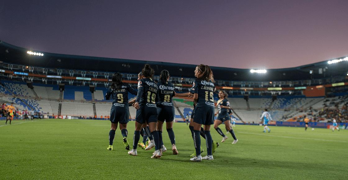 ¡América voló a la final de la Liga MX Femenil el Pachuca!
