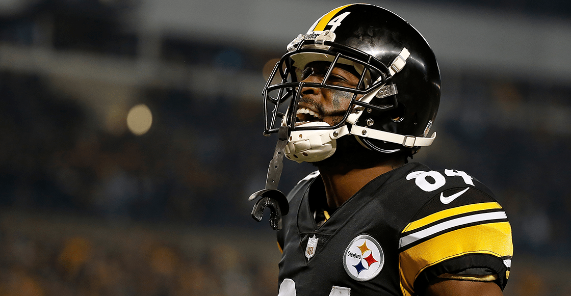 ¿Por qué Antonio Brown no jugó el último partido con los Steelers?