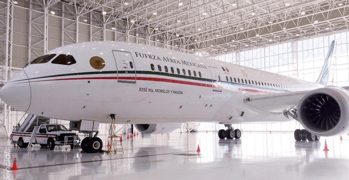 Va calado, va garantizadoooo: hoy sale el avión presidencial a Estados Unidos para su venta