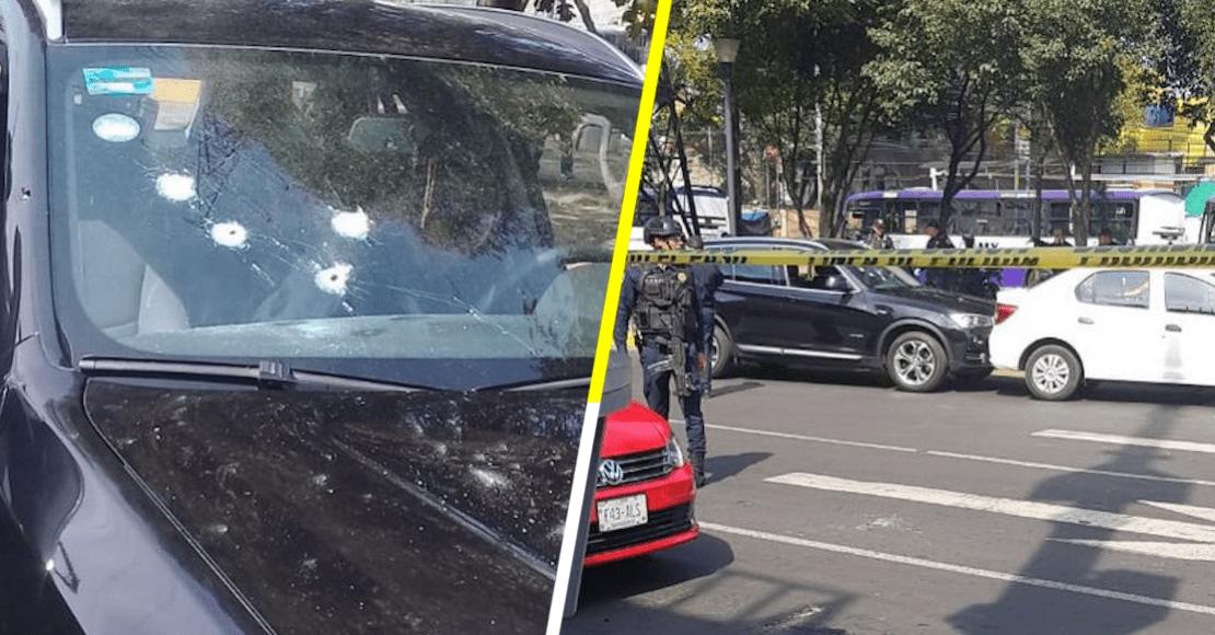 Balean a conductor de un BMW en inmediaciones del Estadio Azteca