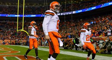 ¡Cleveland otra vez! Browns derrotaron a los Broncos en Denver