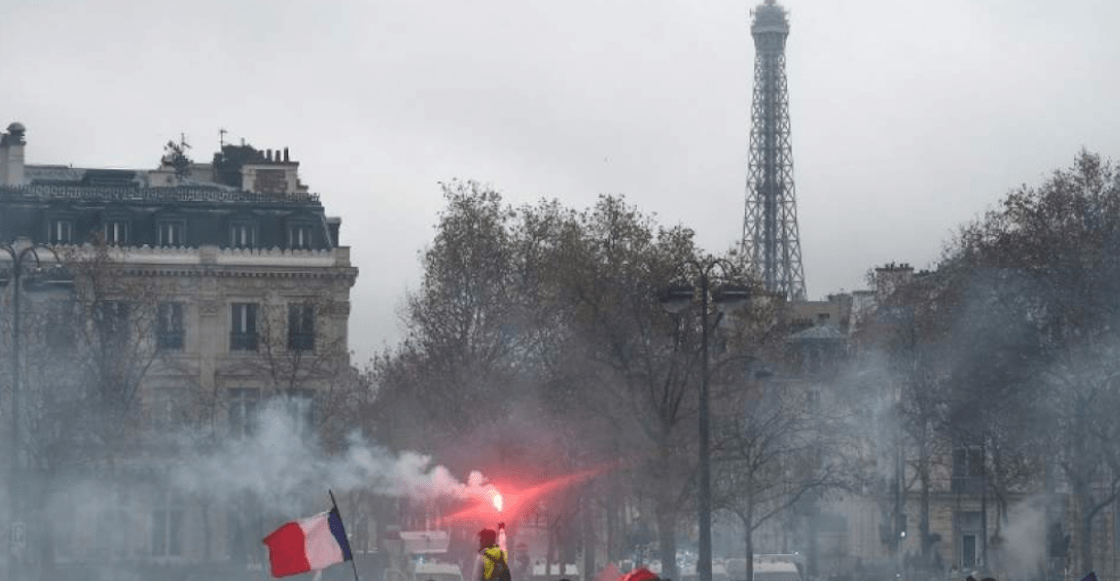 Ante protestas de los chalecos amarillos, museos y hasta la Torre Eiffel estarán cerrados