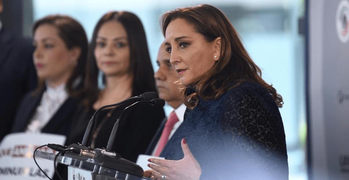 Ruiz Massieu enfrentará al gobierno 'autoritario' de AMLO; 'quiere silenciar voces', dice