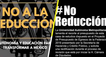 Convocan a manifestación contra reducción de recursos a universidades