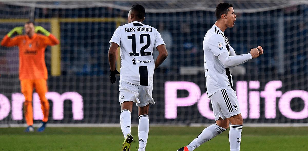 ¡A lo Cristiano! Va el gol de 'CR7' frente al Atalanta