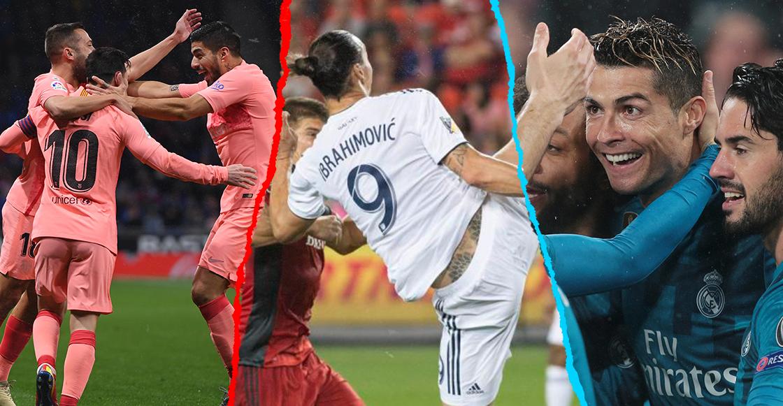 ¡Elige tu favorito! ¿Cuál fue el mejor gol del 2018?