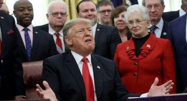 Por declarar Emergencia Nacional para financiar muro, 16 estados de EEUU demandan a Trump