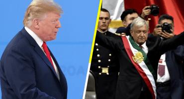 ¿Eres tú, Juan? Donald  Trump felicita a AMLO por inicio de Presidencia