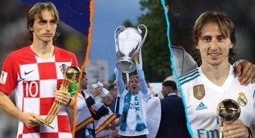 Así fue el año de Luka Modric para ganar el Balón de Oro