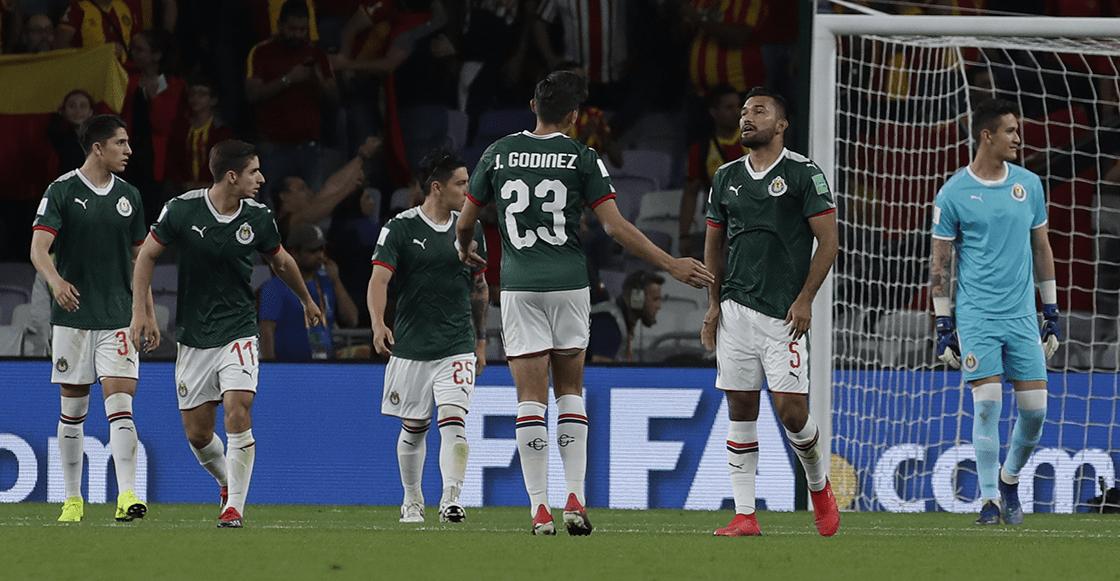 ¡De infarto! Chivas hace el ridículo en el Mundial de Clubes y tenemos los goles