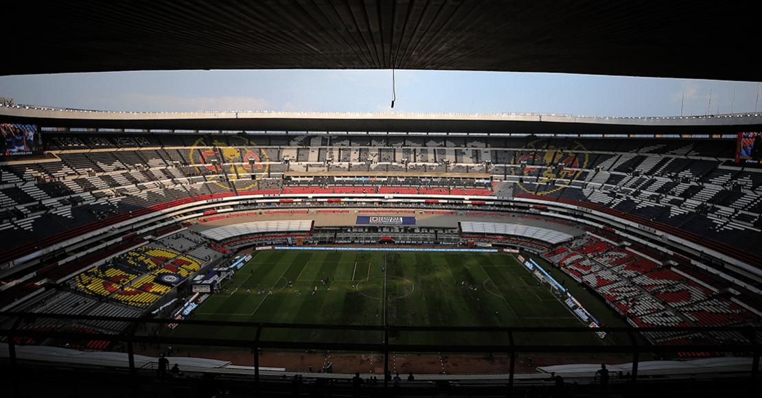 ¡No aprenden! Estadio Azteca tendrá tres partidos en 4 días